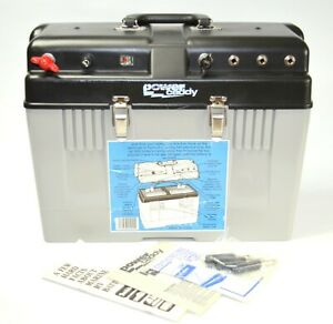 POWER CADDY Marine Battery Box with Male Power Connectors * Made in U.S.A.