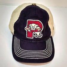 Portland Sea Dogs Outdoor Cap Ajdustable Hat Camo Underbill Navy Tan USA Flag