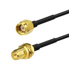 RP-SMA auf RP-SMA Wlan Antenne Adapter Kabel 15cm für PC Lan Wireless Wifi Route