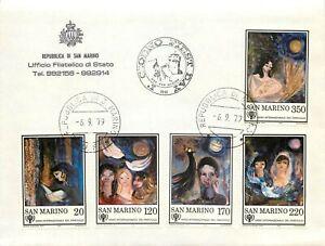San Marino, FDC - Anno internazionale del fanciullo, 06/09/1979