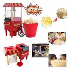 Home Vintage Retro Electric Popcorn Maker Popper Countertop Machine