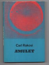 Carl RAKOSI Poetry Book AMULET 1st Edition 1967 Hard cover w/ Dust Near New