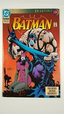 DC Comics BATMAN KNIGHTFALL #498 AUG 93 Ungraded Free S&H