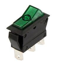Wippenschalter KFZ Grün 12 V 20 A 3-polig Schalter 2 Stellungen 11265