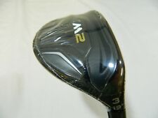 New RH TaylorMade M2 19* 3h Rescue 3 Hybrid Graphite Regular Flex M-2 16