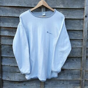 Vintage Champion Oversized Spellout Sweatshirt From USA