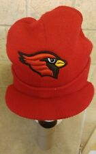NFL ARIZONA CARDINALS WINTER KNIT CUFFED HAT WITH BRIM OSFA