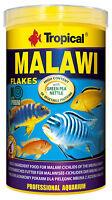Tropical Malawi Flakes 1000 ml Flockenfutter für Barsche Mbuna Cichliden