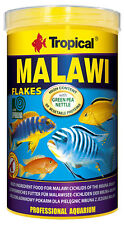 Tropical Malawi Flakes 250 ML Flake Food For Cichlid Mbuna Cichlids