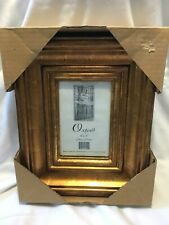 Gold/Bronze Finish Wide Molding 4 X 6 Picture Frame (New In Box)