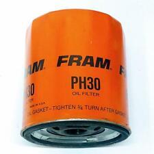 Vintage Fram PH30 Spin On Engine Oil Filter Lot of 4 New Old Stock Many GM