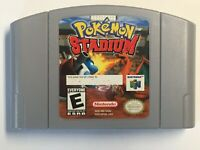 Pokemon Stadium ~ Nintendo 64, Cart Only ~ Authentic ~ Cleaned & Tested
