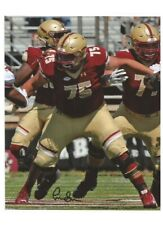 Chris Lindstrom Signed/Autographed Boston College Bc Eagles 8x10 Photo w/Coa