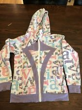 Ivivva Girls Long Sleeve Hooded Sweatshirt  Size 14 Dance Fly Jump Cheer