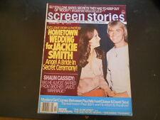 Jaclyn Smith, Farrah Fawcett, Sylvester Stallone - Screen Stories Magazine 1977