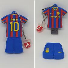 Memoria Pendrive USB 16 GB Leo Messi Barcelona