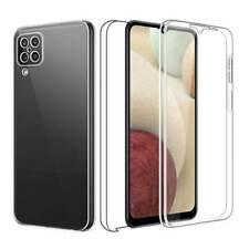 SDTEK Funda para Samsung Galaxy A12 5G Full Body 360 Doble Delantera