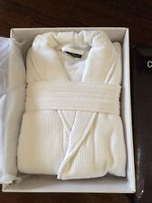 Cotton Waffle And Terry Spa Robe One Size Fits Most Unisex Melb Pick Up BNIB