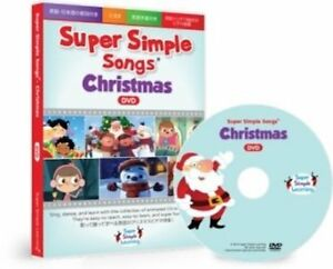 SUPER SIMPLE SONGS CHRISTMAS DVD CHILDREN KIDS MUSIC VIDEO FROM FREE SHIP