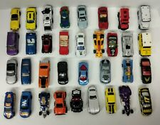 Hot Wheels, Matchbox Lot of 34 Loose Diecast & Plastic Cars Trucks