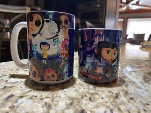 Coraline 2 Ceramic Coffee Tea Mug Cup 11 Oz & 15 Oz