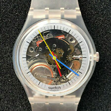 SWATCH - JELLYFISH, CIRCA 1985 MODEL GK100 VINTAGE EARLY WITH ORIGINAL TAGS