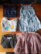 Girls clothes bundle 5 items 3-4 years 104 cm