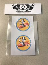 85th Bomb Squadron WW2 Skeleton Vinyl Decal Sticker RC Air WWII B-18 A-20 B-66