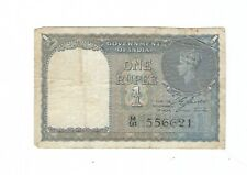 British India - One (1) Rupee 1940