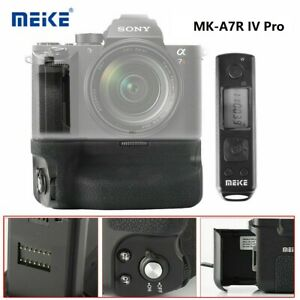 MeikeMK-A7R IV Pro Battery Grip with Wireless Remote Control for Sony a7RIV a9II