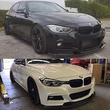 BMW F30 F31 3 Series M Sport 328 330 335 340 Carbon Fiber Front Lip Spoiler