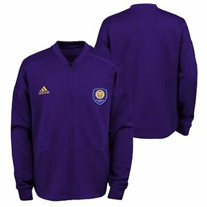 Adidas MLS Youth Orlando City SC Anthem Zip Up Jacket