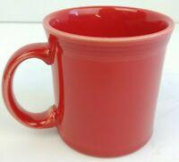 HLC Fiesta Mug Red Coffee Tea Cup Fiestaware USA Made 1 Only