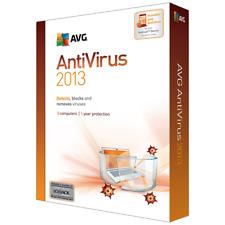 AVG Anti-Virus 2013 - 3 Users 1 Year