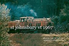 "St.J&LCRR 70 tonner 51 near St Johnsbury Vt 1967 4x6""  size options available"