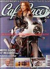 CAFE RACER 59 Dossier DUCATI Panigale 239 240 250 350 450 Mono GUZZI V7 Racer
