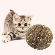 2016 New Natural Wild Catnip Toys Cat Play Balls Chew toy Hairball pet Supplies