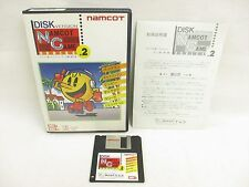 MSX NAMCOT GAME Series 2 Ref/25207 Msx2/2+ 3.5 2DD Import Japan Video Game msx