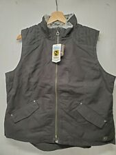 Noble Outfitters Women's Equestrian Canvas Vest-Lined-XL-Black