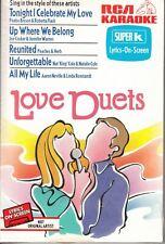 Love Duets by Karaoke (Cassette, Aug-1994, RCA Karaoke)