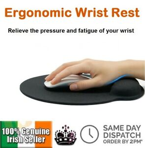 Anti-Slip Mouse Pad With Wrist Support PC & LAPTOP Mousepad Hand Rest Gaming