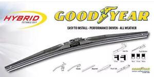 Goodyear Hybrid Technology Windscreen Wiper Blades, Good Year replacement