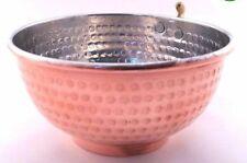 Copper Shaving Bowl Mug Cup for Shaving Brush and Safety Razor
