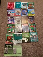 Huge Homeschool Book Lot A Becka, Saxon, Horizons