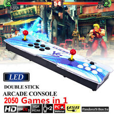 2050 in 1 Video Games Pandora's Box Retro Double Stick Arcade Console Light HOT