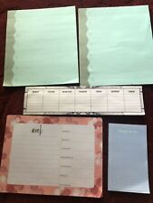 3M Post-it lot 4 weekly planner pads and 1 things to do pad NEW