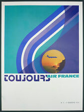 REVUE TOUJOURS AIR FRANCE N°1 - 1973 - TEXTE INEDIT SAINT EXUPERY - AVIATION
