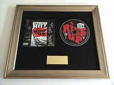 PERSONALLY SIGNED/AUTOGRAPHED CYPRESS HILL -RISE UP FRAMED CD PRESENTATION. RARE