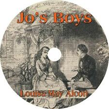 Jo's Boys, Louisa May Alcott Audiobook Fiction English Unabridged on 1 MP3 CD
