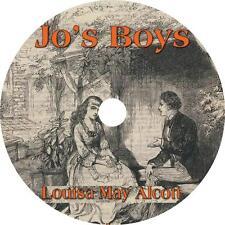 Jo's Boys, Louisa May Alcott Audiobook Fiction English Unabridged on 1 MP3 CD